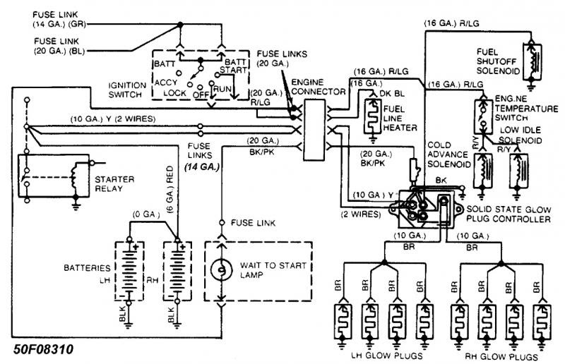 Ford F 250 Alternator Wiring Wiring Diagram