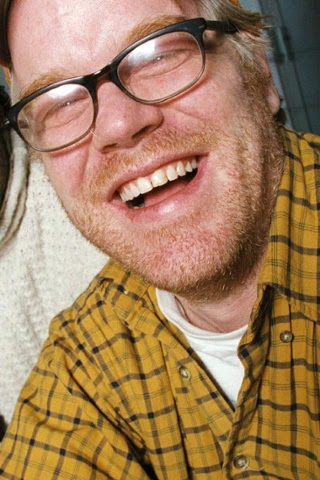 Philip Seymour Hoffman at the Tricycle Theatre in London (2002)