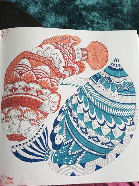fish  millie marottas animal kingdom colouring book