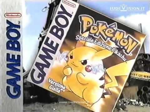Game Boy Color - Pokèmon Giallo: Edizione Pikachu (2000)