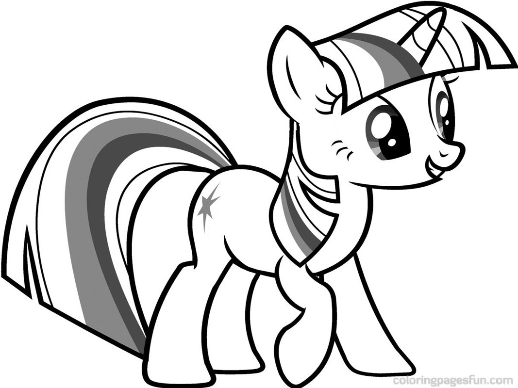 My Little Pony Coloring Pages Coloring Pages For Girls 41 Free