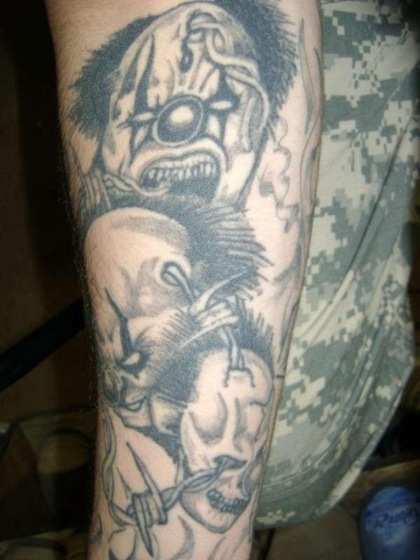 Hear Speak See No Evil Tattoo