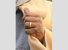 Kanye West shows first glimpse of his wedding ring but Kim Kardashian's band is nowhere to be