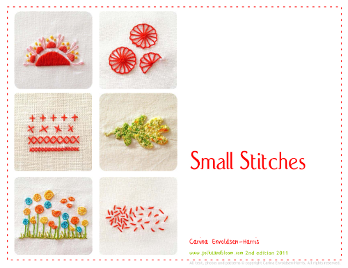 Small Stitches - an ebook I wrote.