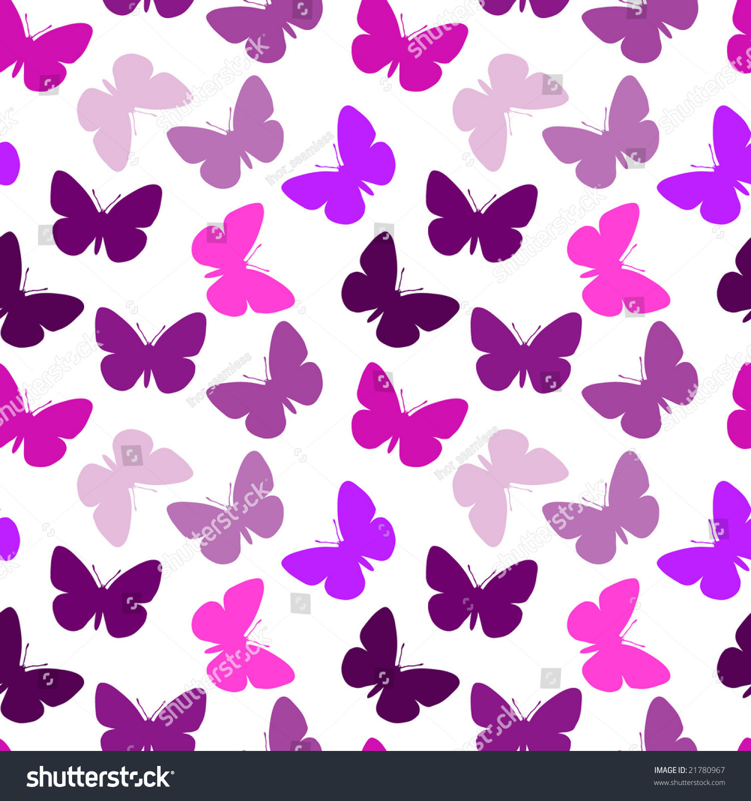 habrumalas: Pink And Purple Background With Butterflies Images