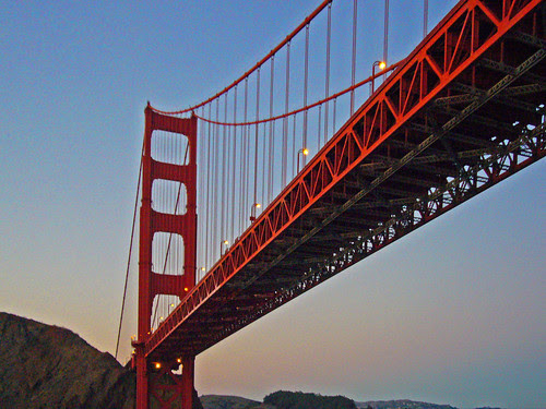 Golden Gate Bridge by Old Jingleballicks