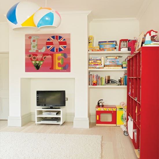Colourful child's playroom | Playroom decorating ideas | Childrens room | Homes & Gardens | IMAGE | Housetohome.co.uk