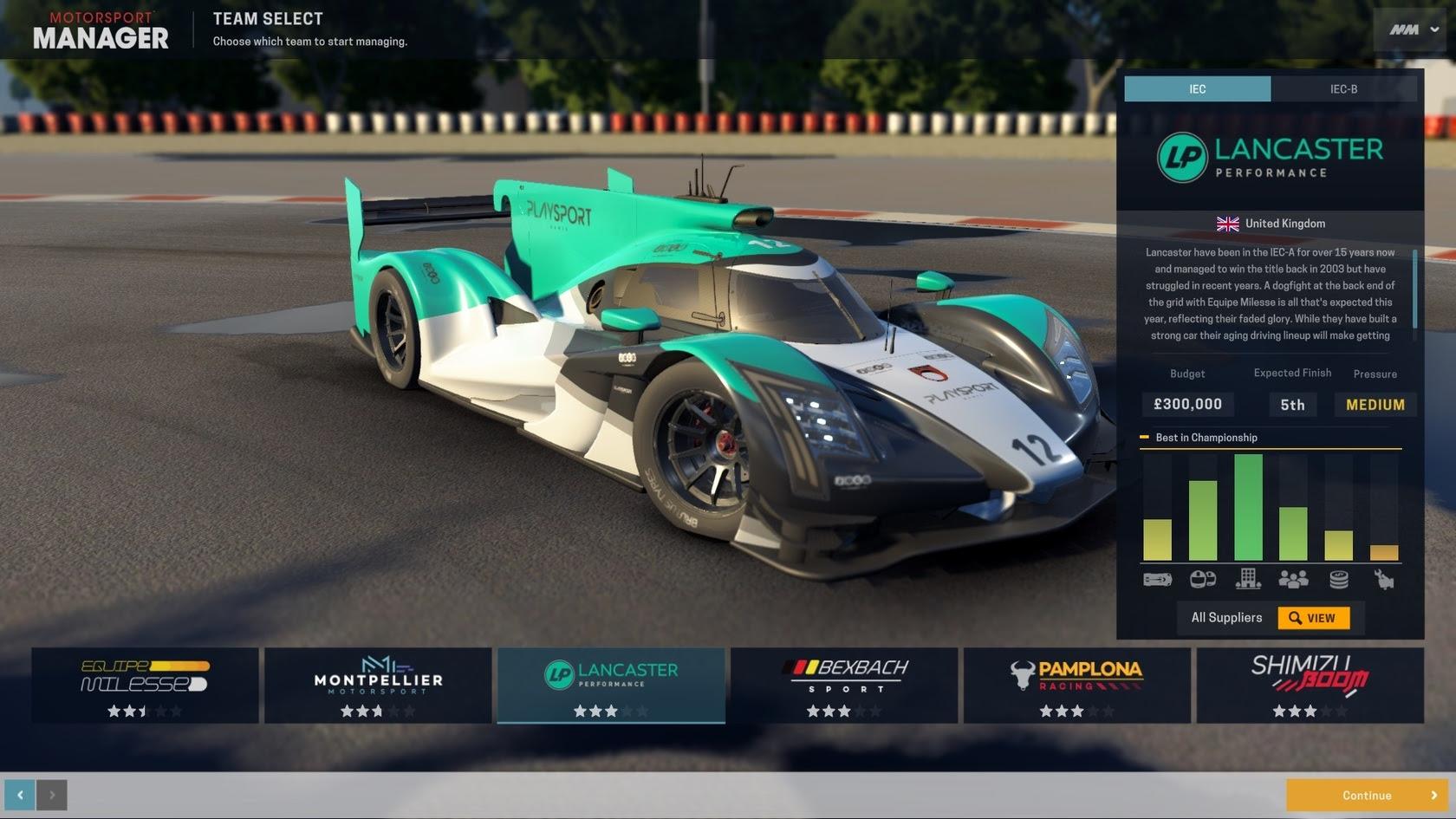 Motorsport Manager - Endurance Series | macgamestore.com