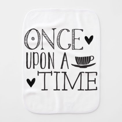 once upon a time burp cloth