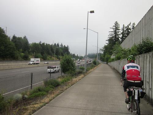 Sunset Highway bike route