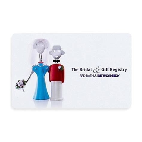 """The Bridal & Gift Registry"" Couple Gift Card   Bed Bath"