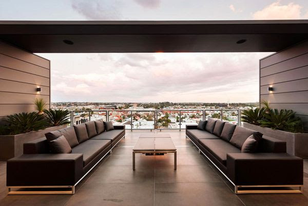 The Sleek And Sophisticated Coppin Penthouse Overlooking Melbourne