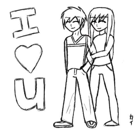 love  anime drawing  kawaiikaii  deviantart