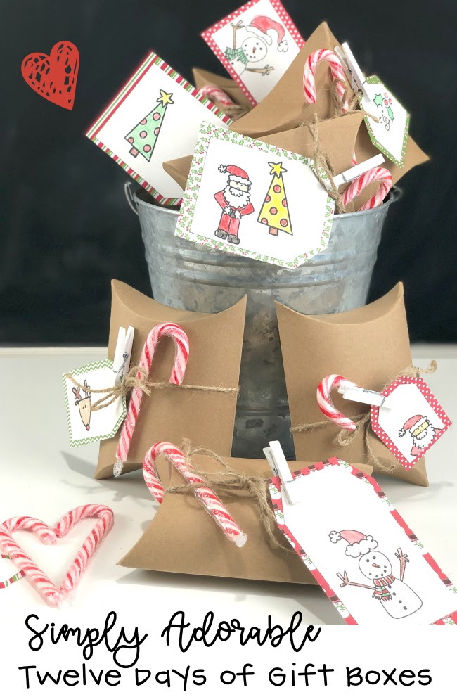 Twelve Days of Christmas Boxes