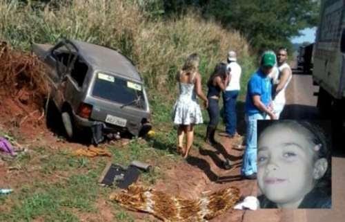 Menina de 6 anos morre em acidente no Paraná