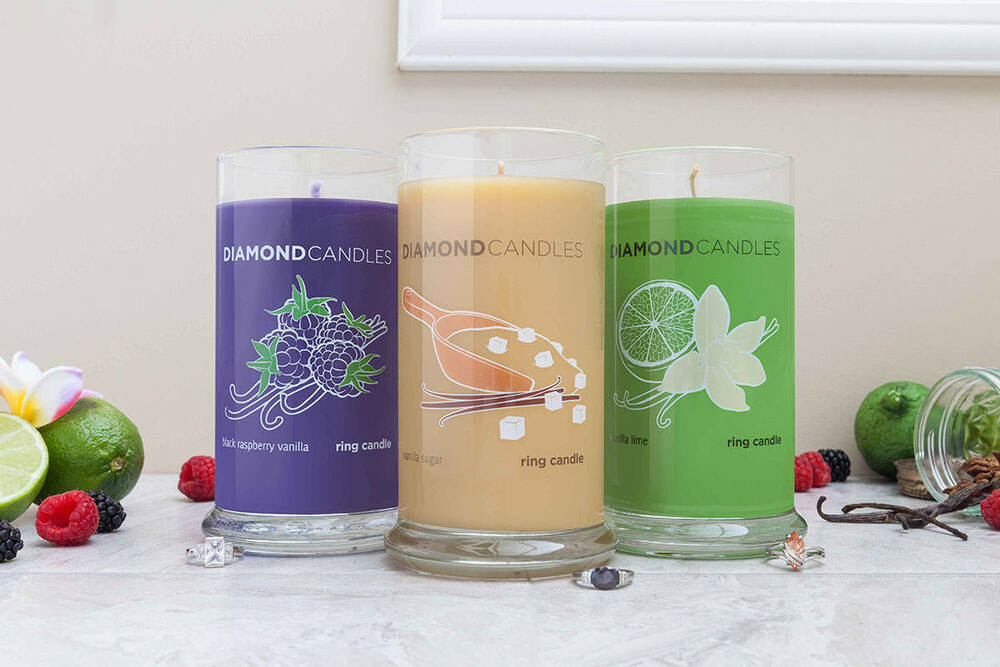 Diamond Candles - A Ring In Every Candle Worth $10 to ...