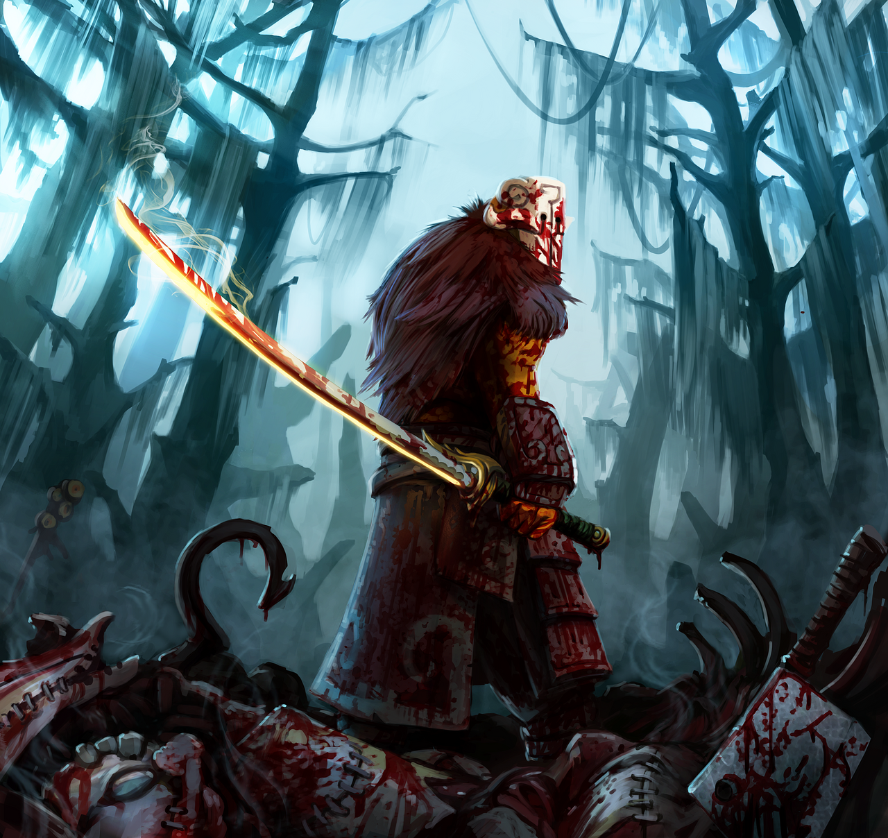 I Call It The Slaughter Of Pudge Incredible Art By Entroz
