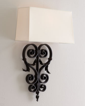 Handcrafted Wall Sconce | horchow.com | Handcrafted Wall Light