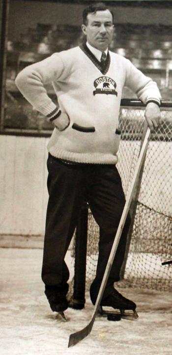 Art Ross Bruins photo Art Ross - Boston Bruins 1931 .png