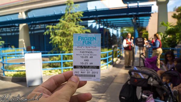 Disneyland Resort, Disney California Adventure, Hollywood Land, Stage 17, Olaf, Frozen, Fun, Fast Pass, FastPass