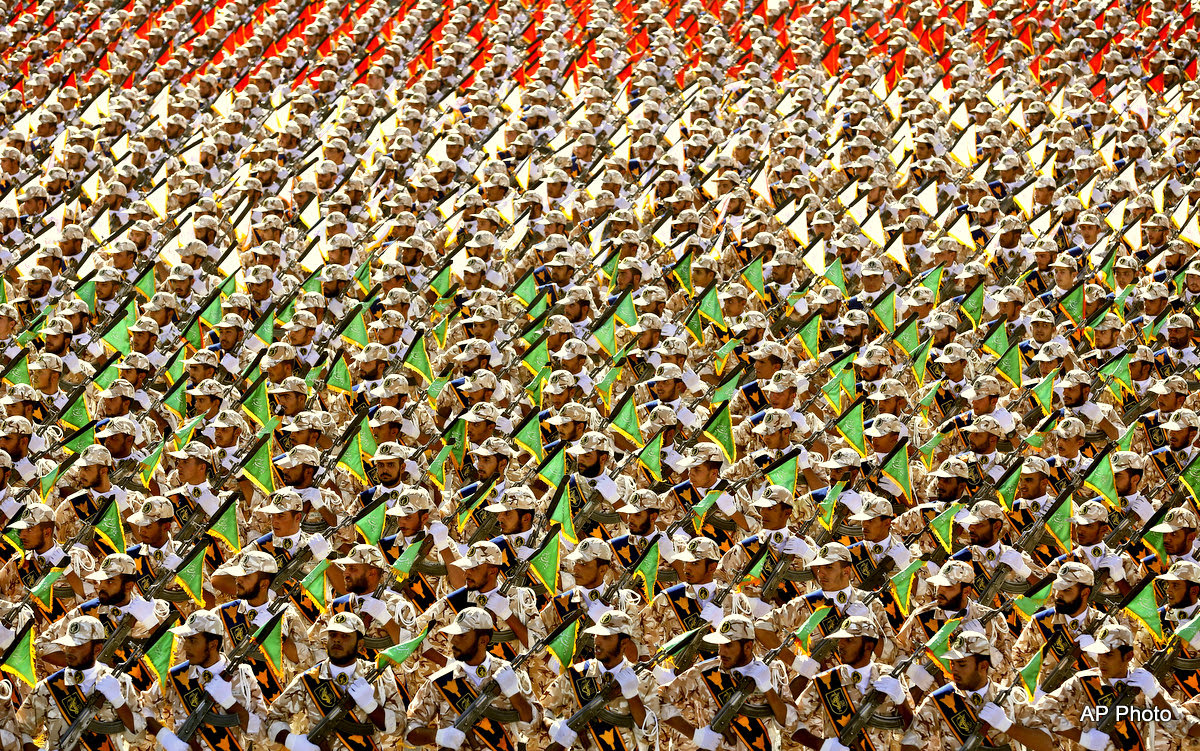 Mideast Iran Armed Forces