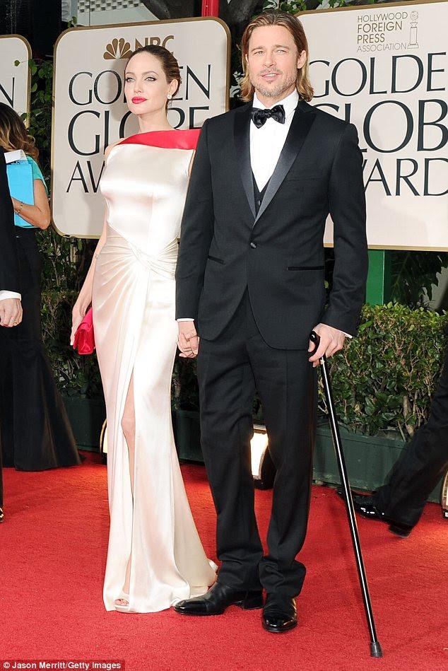 Já vencedores: O casal elegante são espalhados boatos para apresentar um prêmio, e também estão ambos nomeados para os Globos