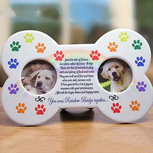 Pet Memorial Frames Personalized Memorial Photo Frames For Dogcat