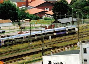 Järnvägsstationen i Åstorp