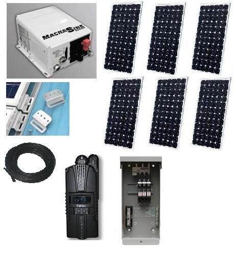 4000 watt solar power system