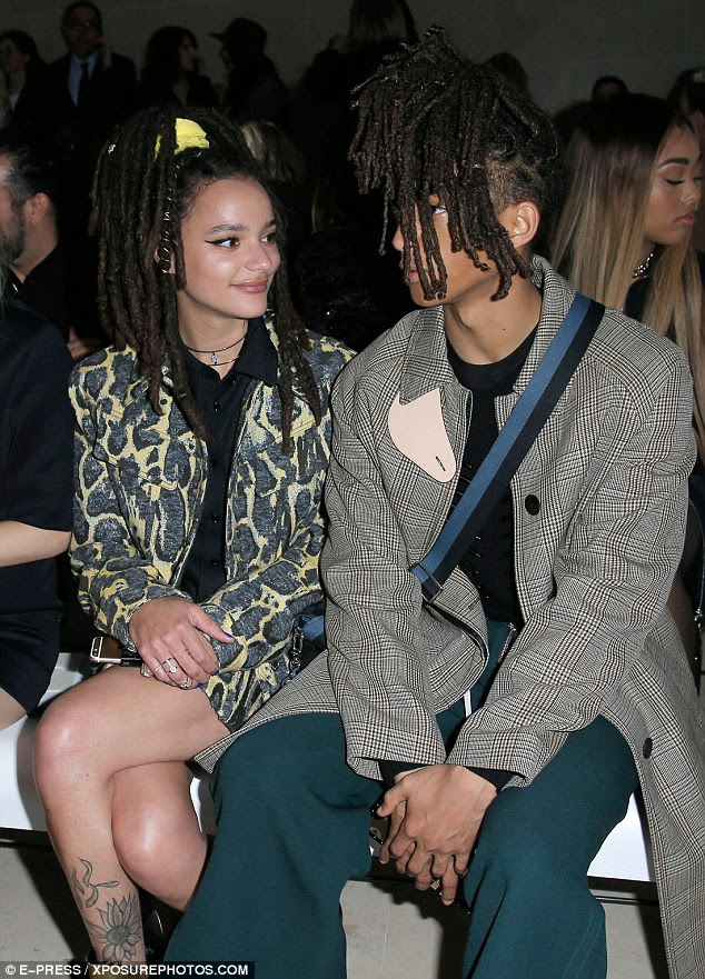 New friends?The Get Down actor was spotted sitting next to actress Sasha Lane at Paris Fashion Week only a few days ago