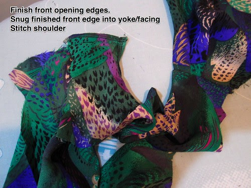 Attach Front to Yoke