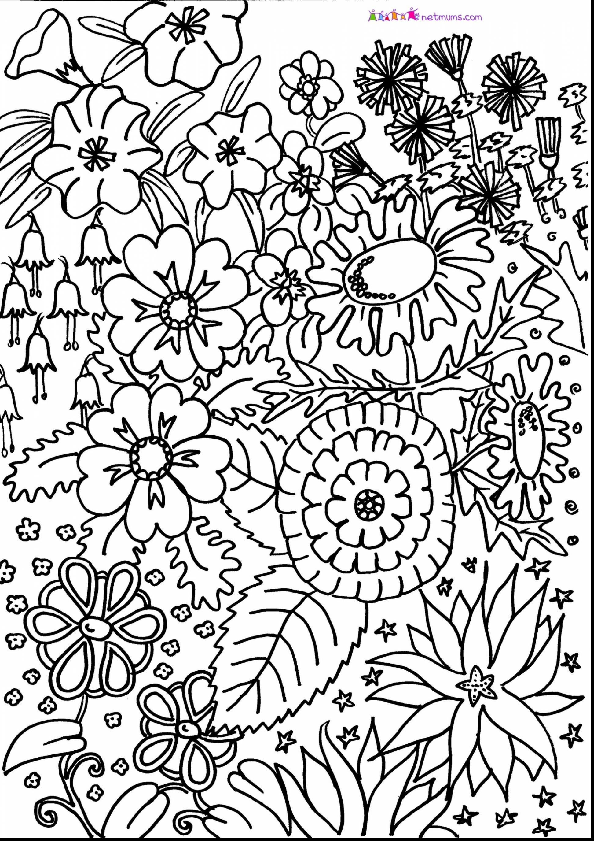 Adult Coloring Pages Patterns Flowers at GetDrawings ...