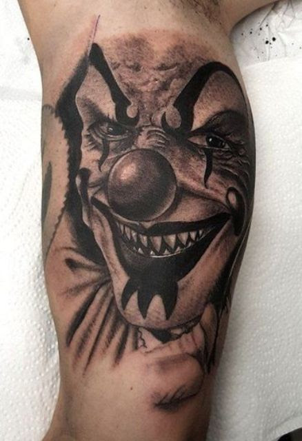 45 Ideas De Tatuajes De Payasos Joker Malditos Y Más