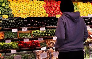 NEW YORK, NY – MAY 07:  A person shops in Whole Foods Market in the Brooklyn borough on May 7, 2014 in New York City. (Photo by Spencer Platt/Getty Images)