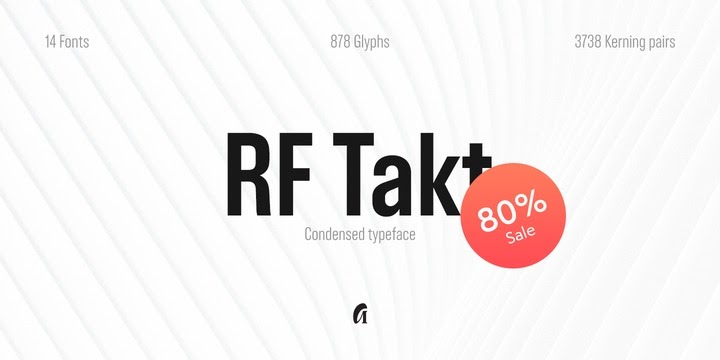 Download RF Takt Font Family From Russian Fonts - Gulnaz