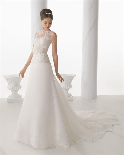 2016 selling lace wedding dress court by simple flower