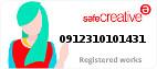 Safe Creative #0912310101431