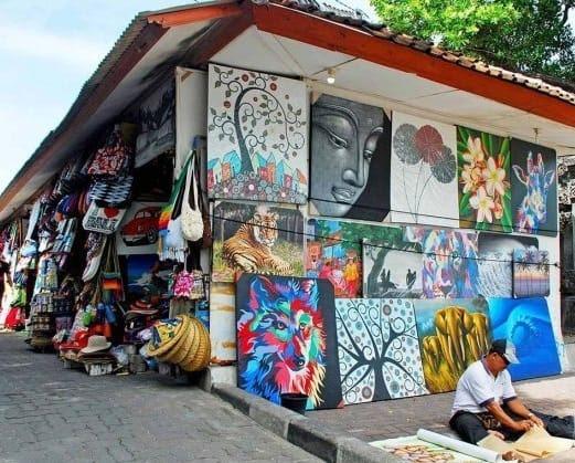 Image result for pasar seni kuta