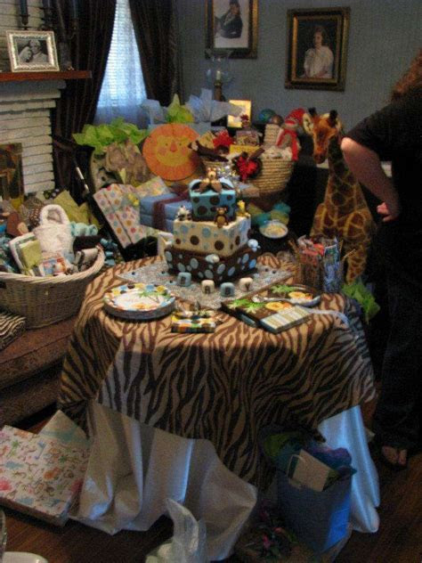 Jungle Theme Baby Shower Party Ideas   Photo 1 of 12