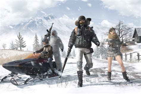 pubg mobile vikendi snow map    android
