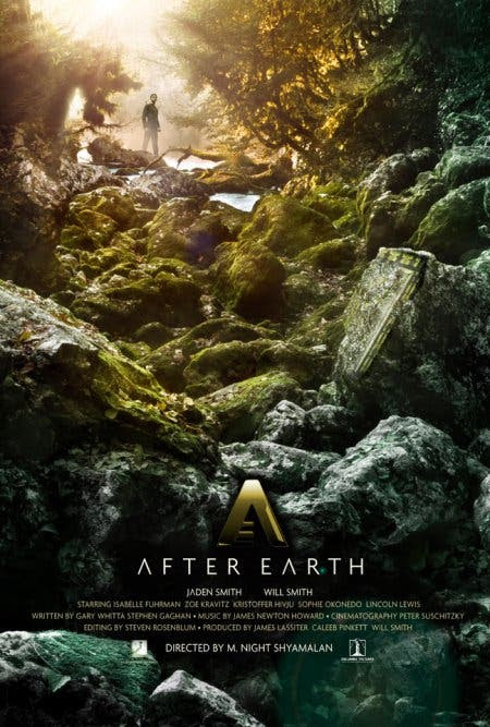 Poster de after earth Primer trailer en español de AFTER EARTH