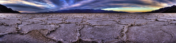 Badwater Panorama- Click on this photo to open large version