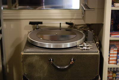 Acetate Cutter in the Norman Petty Recording Studios, Clovis, New Mexico