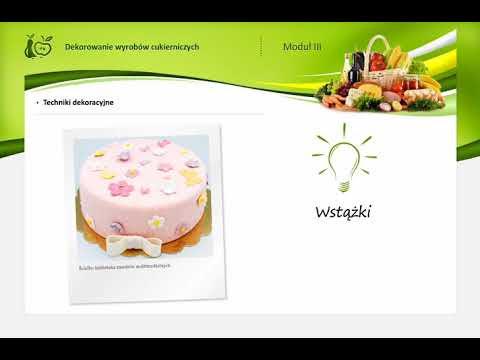 3.3 Masa marcepanowa i masy cukrowe w dekoracji wyrobów