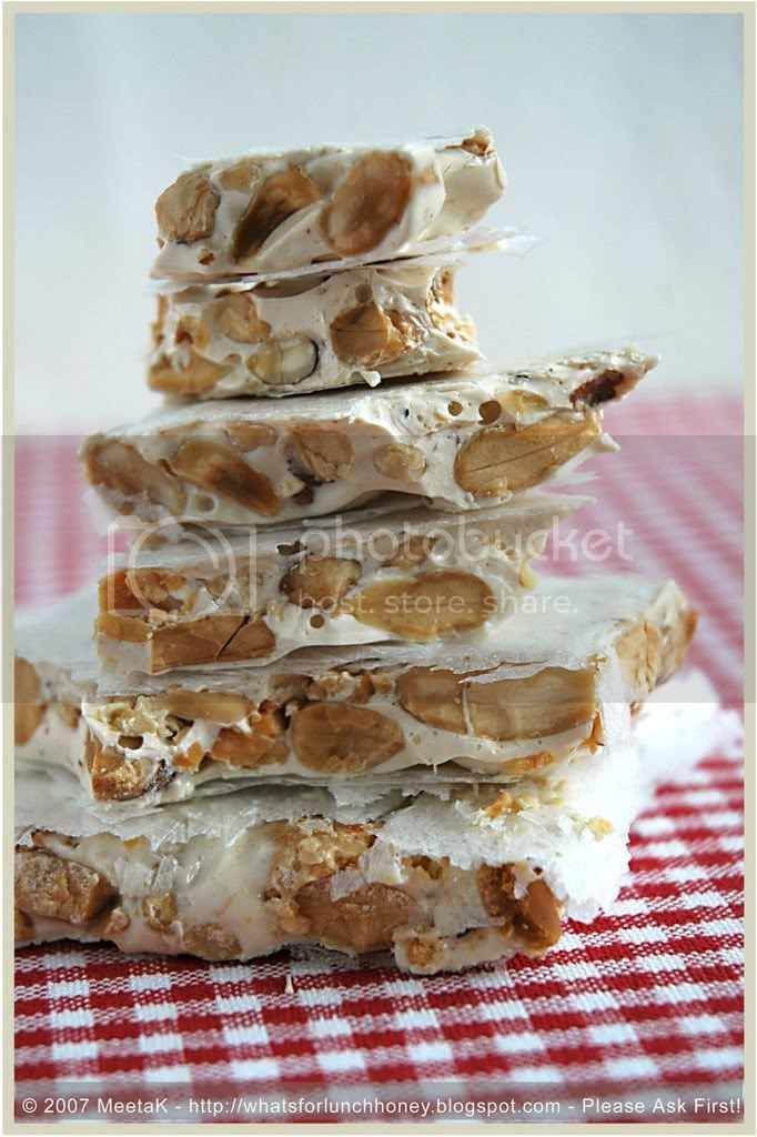 Spanish Flavours Nougat by MeetaK