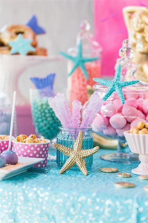 "Kara's Party Ideas ""Let's be Mermaids"" Birthday Party"