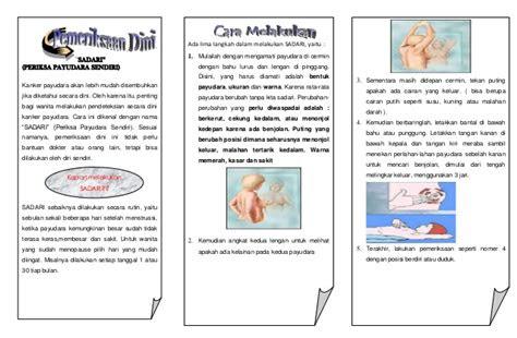 leaflet kanker payudara akper pemkab muna