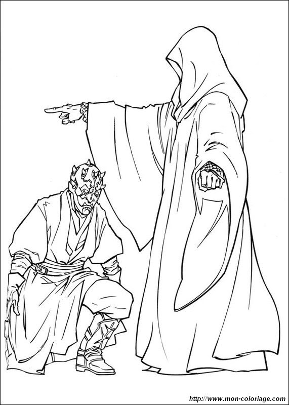Star Wars Coloring Pages Darth Maul At Getdrawingscom Free For
