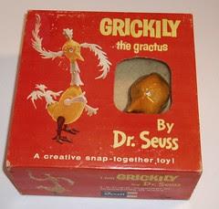 Dr Seuss Grickily model kit
