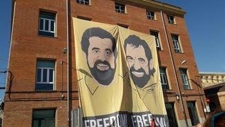"Pancartes ""Llibertat Jordis"""